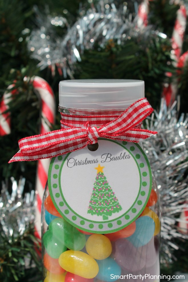 Christmas Tree Printable Tag