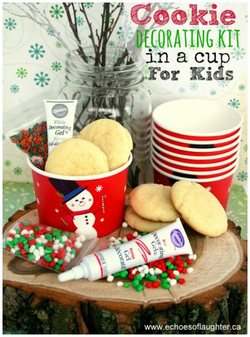 Handmade Christmas gifts cookie decorating