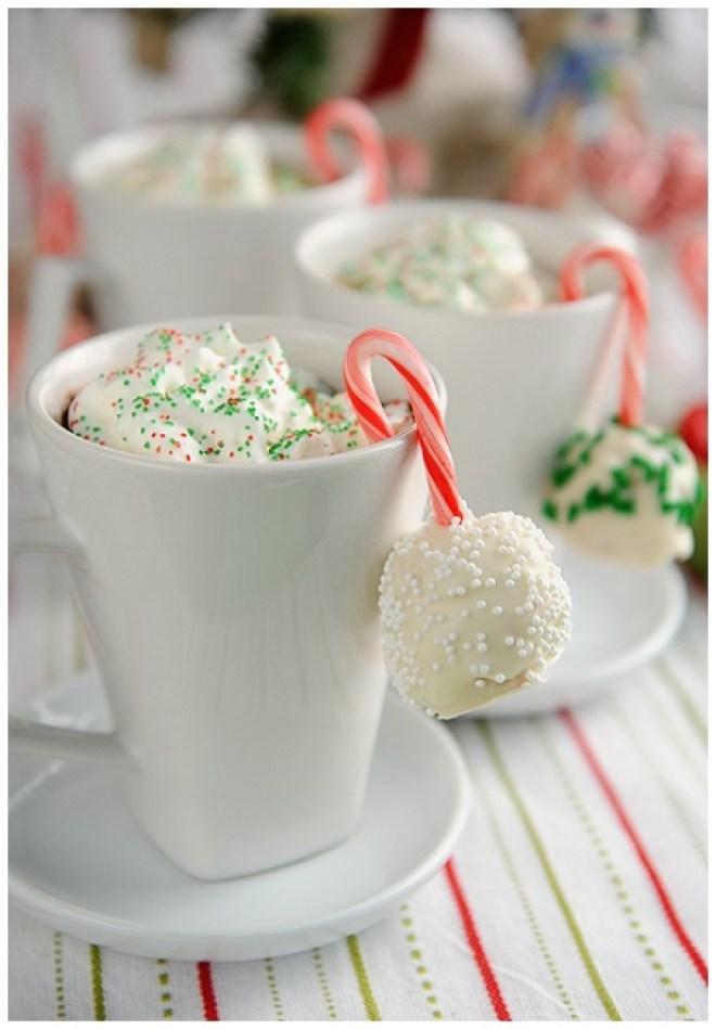 Christmas Dessert Ideas Snowball Krispie Treats