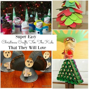 Need some easy and fun Christmas crafts for kids to make? These ideas are great for children who are looking for simple and easy crafts which they could also turn into Christmas gifts. Kids can be creative with these craft, and they are great for the toddlers and preschoolers to make too!