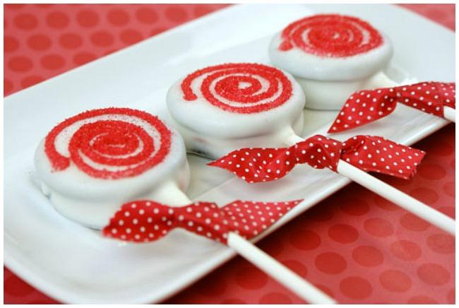Christmas Dessert Ideas Oreo Lollipop