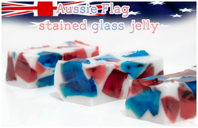 Aussie Flag Jelly