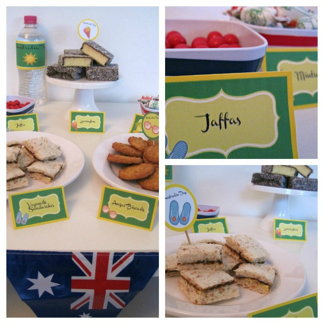 Australia Day Green and Gold