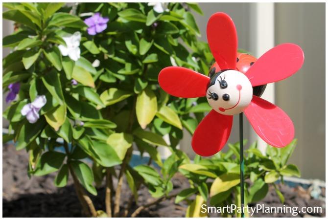 Ladybug Pinwheel