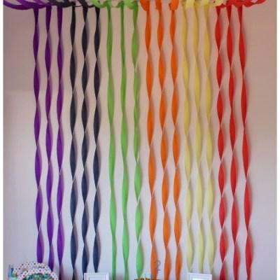 Rainbow Birthday Party That's Super Easy To Recreate