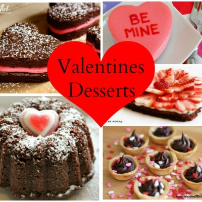Delicious Valentines Desserts