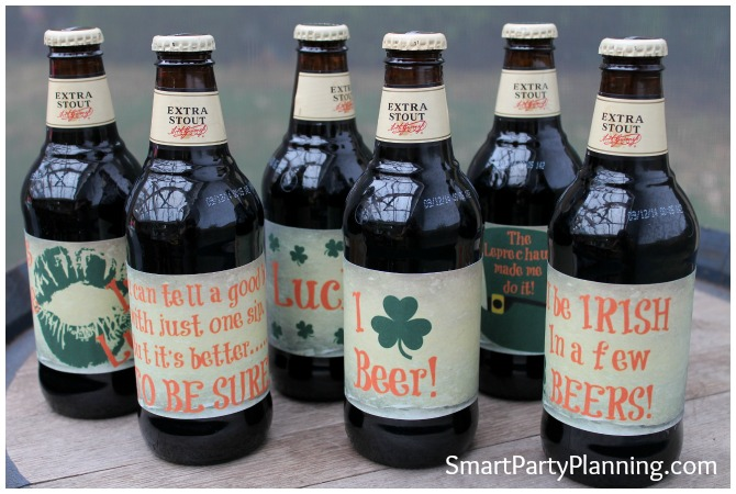 St Patrick's Day Printables: Beer Labels