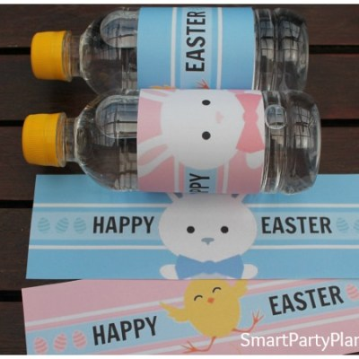 Easter Water Bottle Labels The Kids Will Love