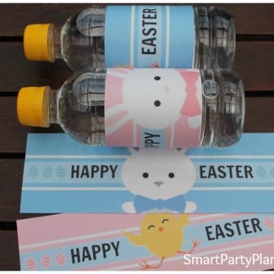 Easter Water Bottle Labels