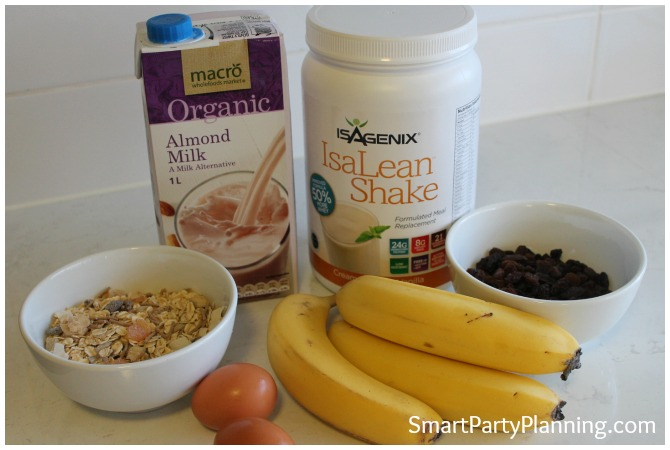 Easy Banana Cake Ingredients