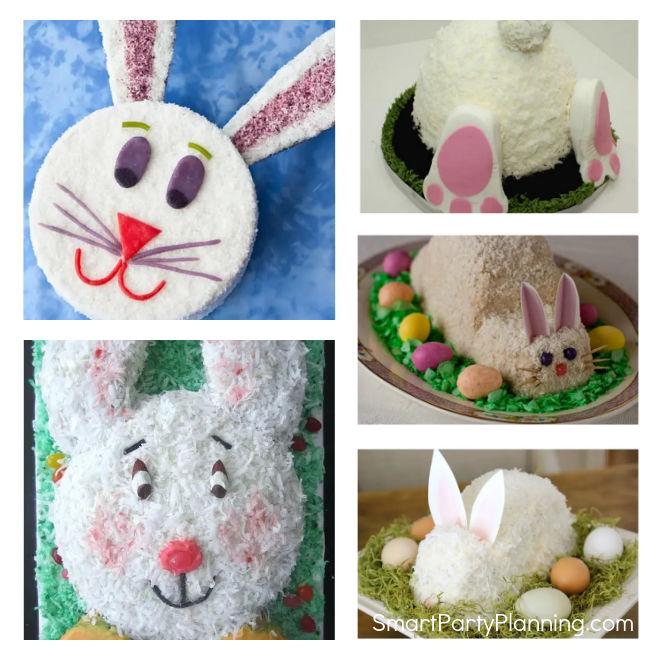 Easy Easter Bunny Cake Ideas