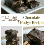 For a healthy chocolate fudge recipe, you seriously need this one! It's rich and decadent and doesn't taste at all healthy....but it seriously is! You can eat this guilt free for dessert or just because. The whole family will love it...that's if you want to share with the kids! Grab this recipe now or regret it.