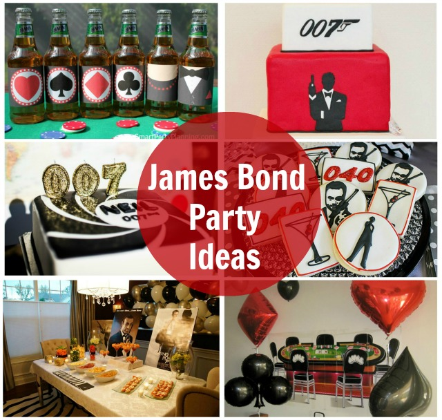 James Bond Party Ideas