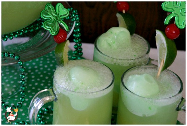 St Patrick's Day Drinks: Punch