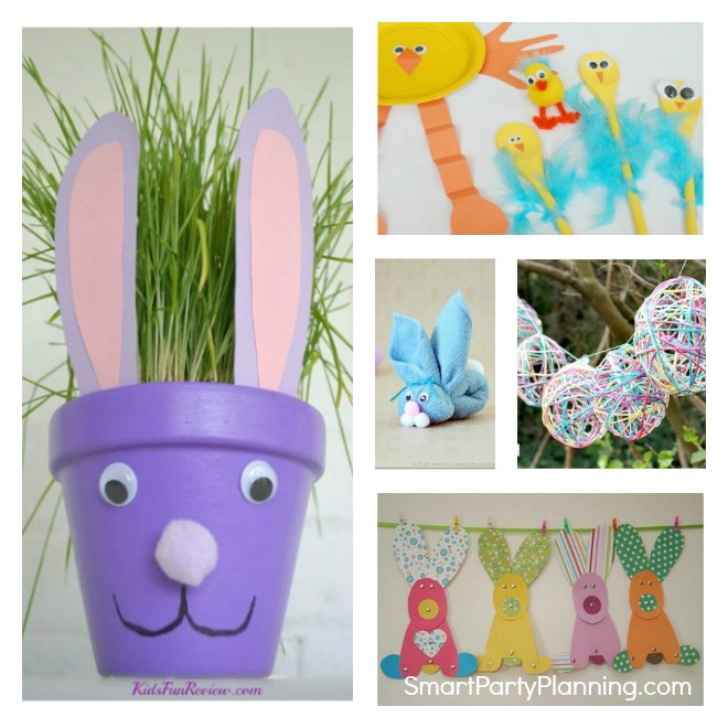 5 Easter Crafts For Kids