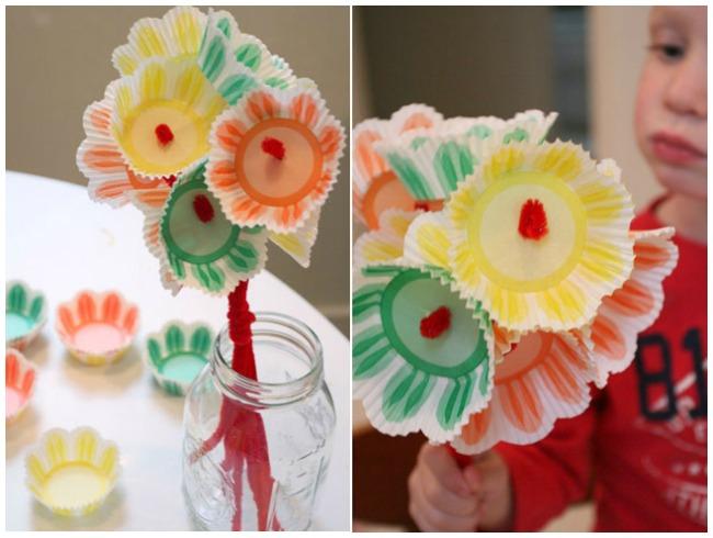 Mother's Day Craft Ideas Flowers