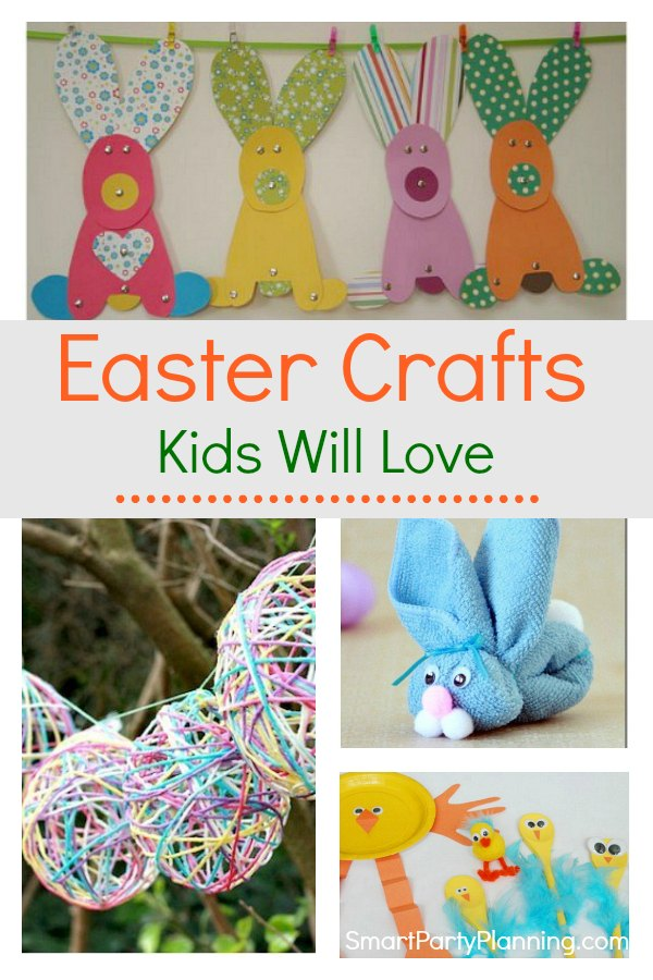 Learn how to make some easy Easter crafts for kidsthat they will absolutely love. They are all fun and they make some great little art projects to keep the children entertained. With simple tutorials, you will be able to try them all.