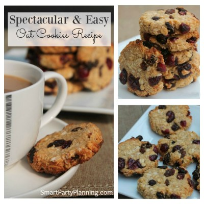 The Most Spectacular And Easy Fruit Oat Cookies Recipe