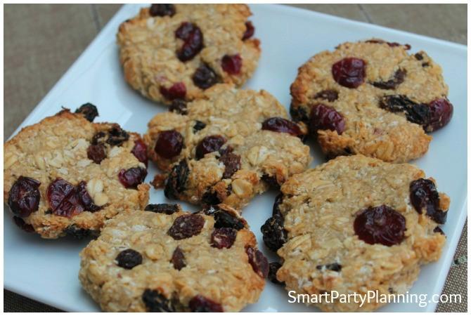 Fruity Oat Cookies
