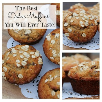 The Best Date Muffins You Will Ever Taste