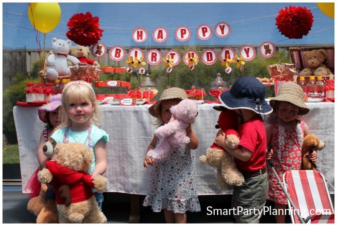 Kids Teddy Bear Picnic