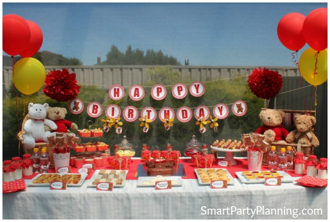 Teddy Bears Picnic Table