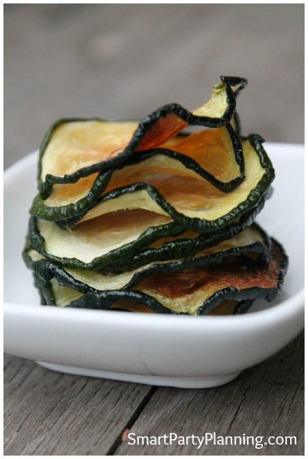 Zucchini Chip Stack