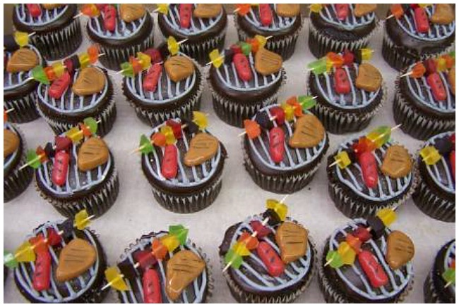14 of the best easy father 39 s day cupcakes. Black Bedroom Furniture Sets. Home Design Ideas