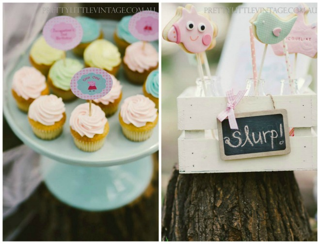 Peppa Pig Cookie and Cakepops