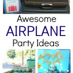 Airplane party ideas