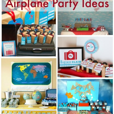 5 Awesome Airplane Party Ideas