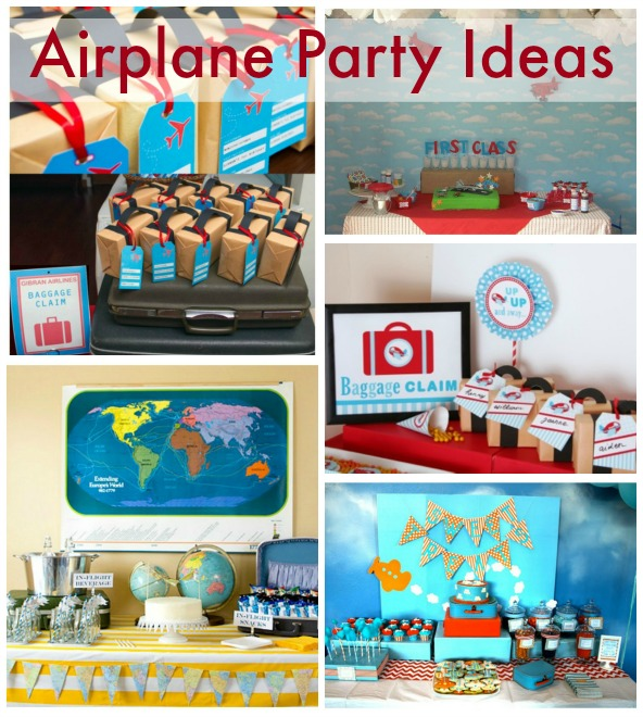 Awesome Airplane Party Ideas