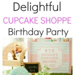 Cupcake Shoppe Birthday Party