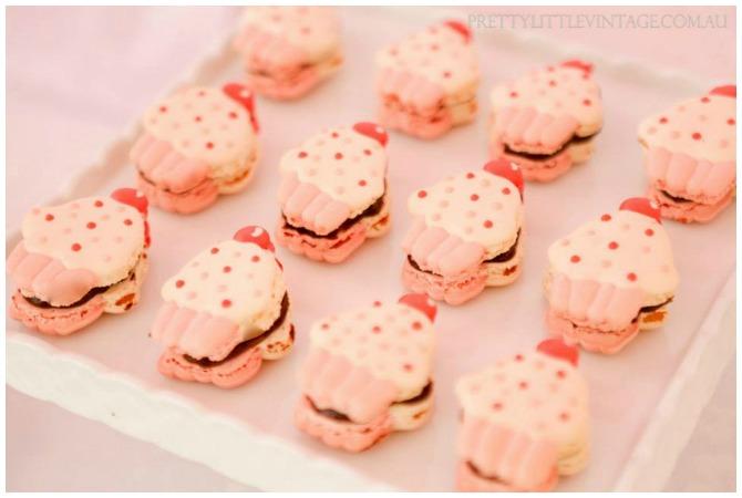 Cupcake Macarons
