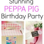 Stunning Peppa Pig Birthday Party