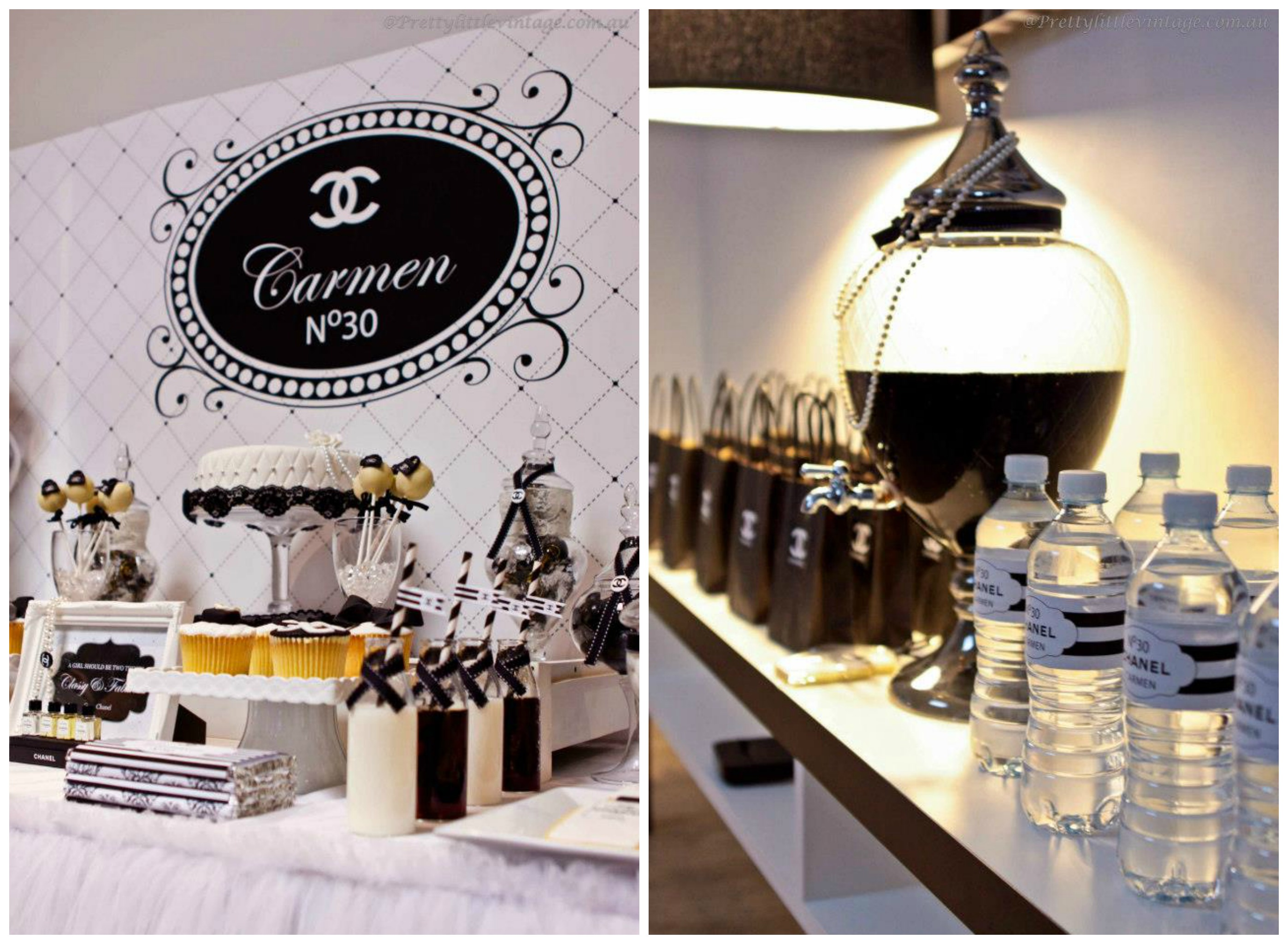 If You Are Looking To Organize A Chanel Inspired Party, This 30th Birthday  Party Will