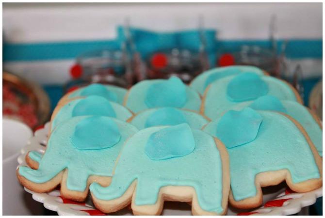 Elephant Sugar Cookies