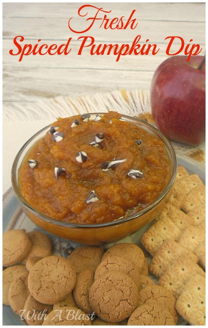 Fresh Spiced Pumpkin Dip