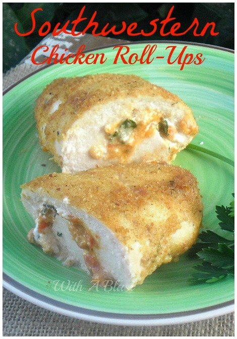 Southwestern Chicken Roll-Ups