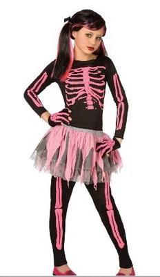 Girls Skeleton