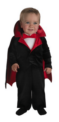 Infant Vampire Suit
