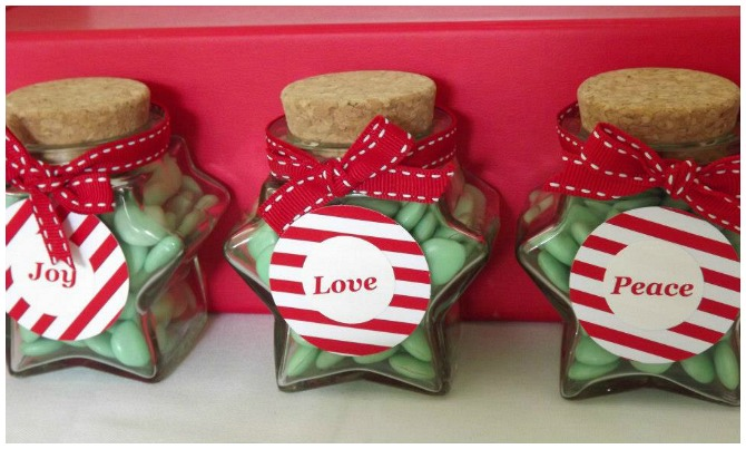 Love Joy and Peace Jars