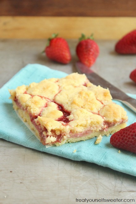 This is the easiest and best homemade rhubarb and strawberry shortcake recipe you are going to find. It has a buttery base, sweet soft rhubarb and strawberry center, and finished with a sweet crumbly topping. This recipe will make your mouth water for sure! It's easy to make from scratch and will be a family favorite.