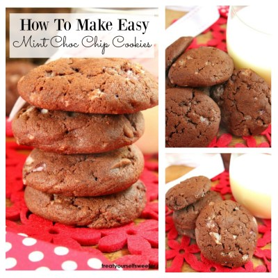 How To Make Easy Mint Choc Chip Cookies