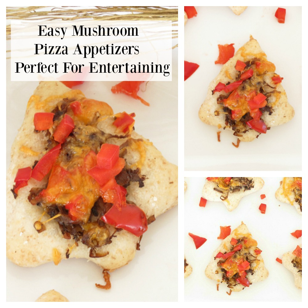 Mushroom Pizza Appetizers