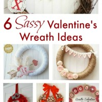 6 Sassy Valentine's Wreath Ideas