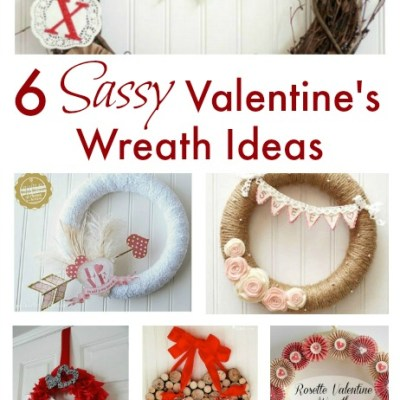 6 Sassy Valentine's Wreath Ideas