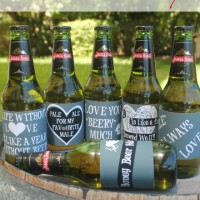 Printable Beer Labels For Valentines Day