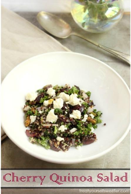 Cherry Quinoa Summer Salad