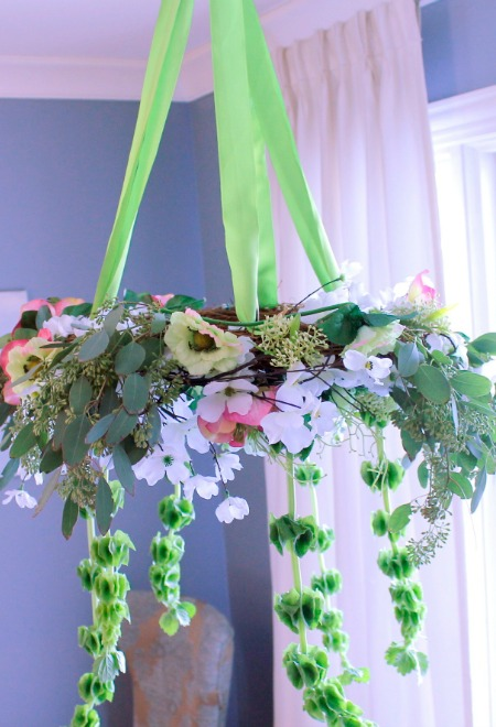 Hanging St Paterick's Day Tablescape